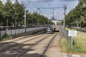 80 Prozent der Fahrgäste sind in Leipzig elektromobil unterwegs: Auf 13 Straßenbahnlinien im gesamten Stadtgebiet.
