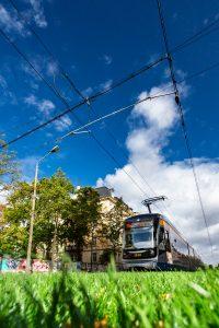 Bereits seit 1896 fahren in Leipzig elektrisch angetriebene Straßenbahnen