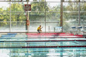 Stete Kontrollen der Wasserqualität sind im Sportbad selbstverständlich.