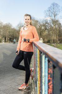 Karmen Dietze zieht als erfahrene Läuferin andere Sportler regelmäßig zur Bestzeit.
