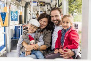 2018 beförderten die LVB 156,4 Millionen Fahrgäste.