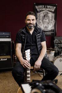Andre Rauch lebt seinen Traum vom eigenen Tonstudio mitten in Leipzig.