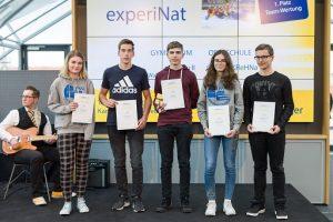 So sehen Sieger aus: die Gewinner von experinat 2019.