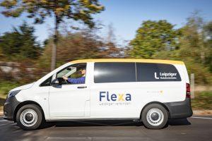 Aussenansicht vom Flexa Van