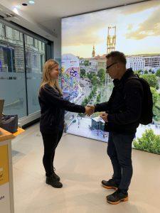 Leipzschini Jagd bei LVB: Der Gewinner eines Sofortgewinns im Service Center der Verkehrsbetriebe