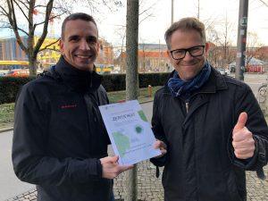 Baumpatenschaft Ökolöwe und Leipziger Gruppe