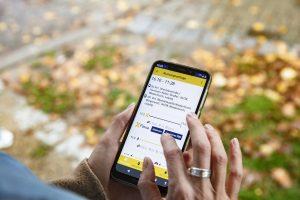 Flexa für Helden: Blick auf die Smartphone-App