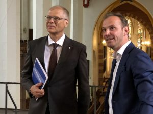 Volkmar Müller und Michael Maul