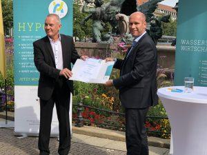 Dr. Joachim Wicke und Karsten Rogall