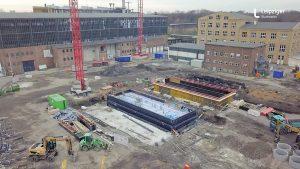 Baustelle HKW Leipzig Süd