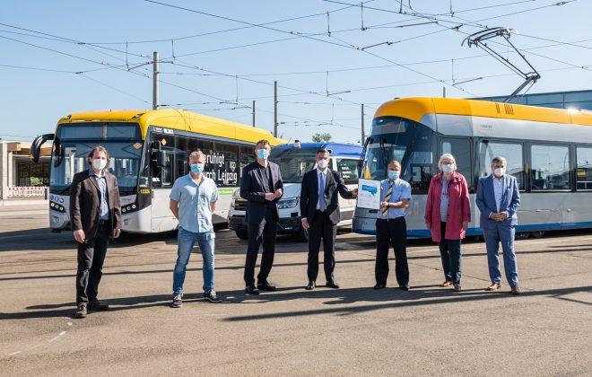 Gruppenbild mit Staatminister Martin Dulig