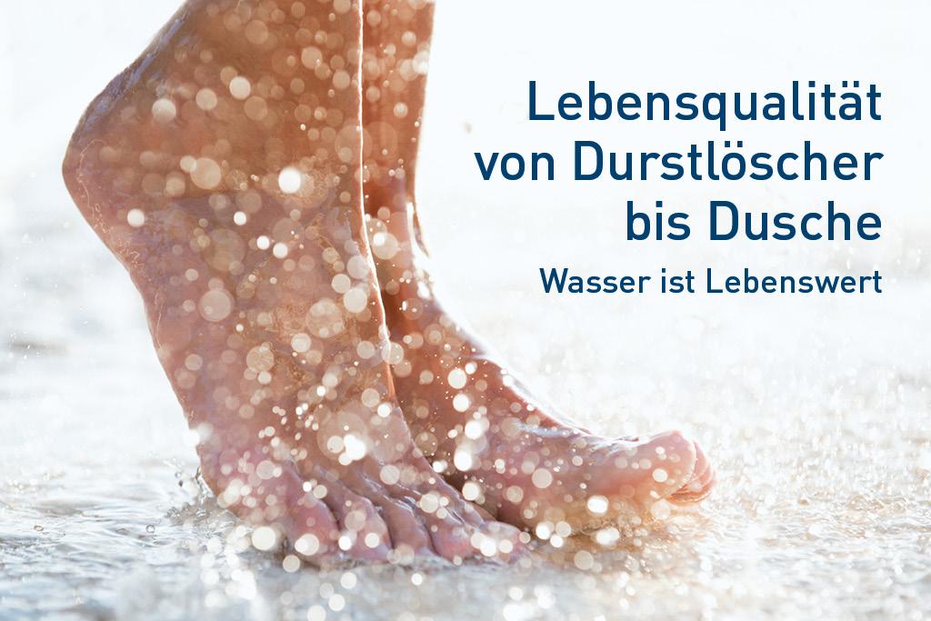 Preis des Wassers in Leipzig - Wasser ist lebenswert
