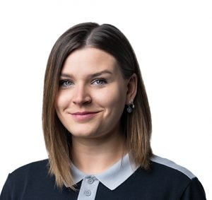 Sarah Richter, Pubilc Relations Managerin der EXA IceFighters Leipzig