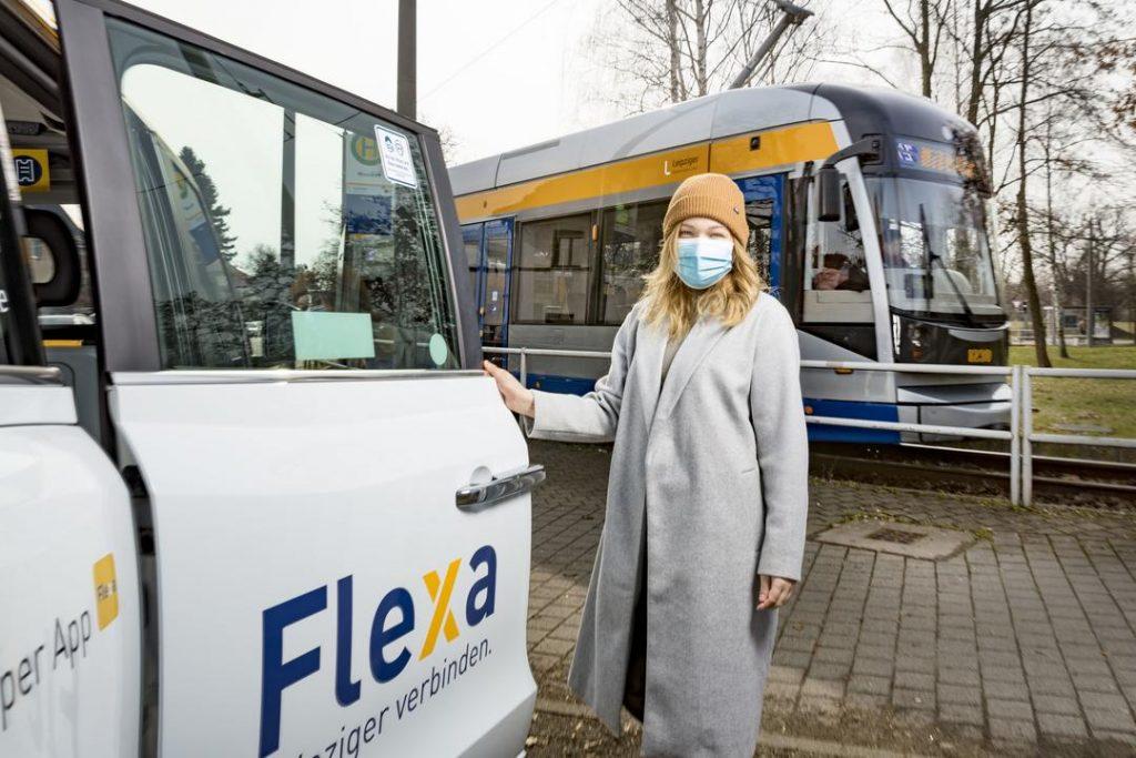 Viktoria Finck nutzt das LVB-Angebot Flexa.